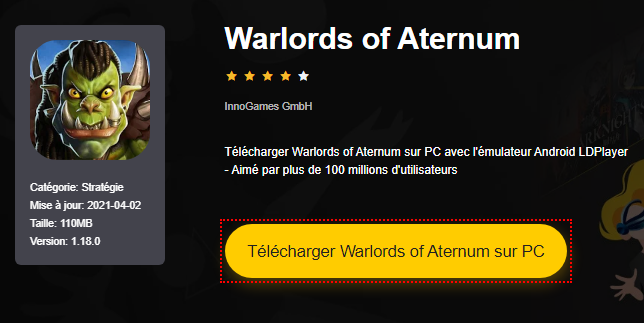 Installer Warlords of Aternum sur PC