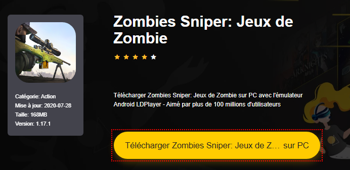 Installer Zombies Sniper: Jeux de Zombie sur PC