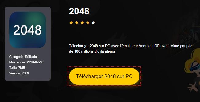 Installer 2048 sur PC