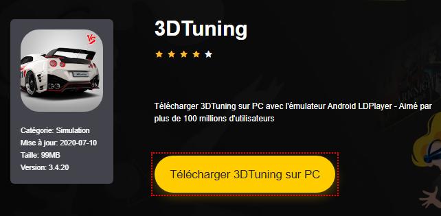 Installer 3DTuning sur PC