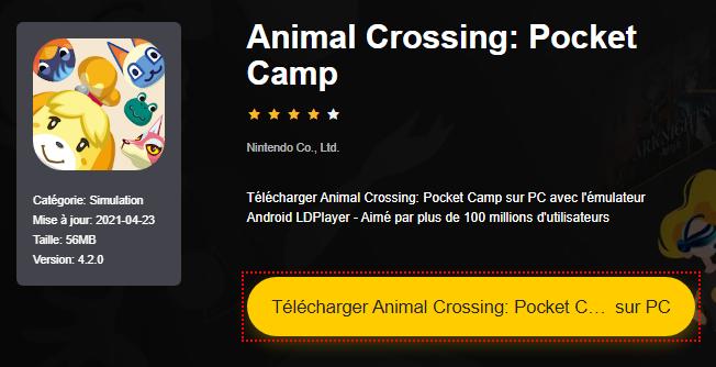 Installer Animal Crossing: Pocket Camp sur PC