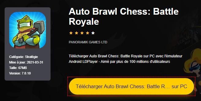Installer Auto Brawl Chess: Battle Royale sur PC
