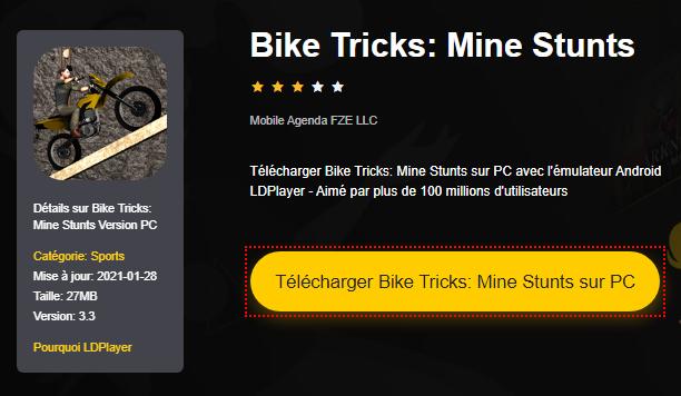 Installer Bike Tricks: Mine Stunts sur PC