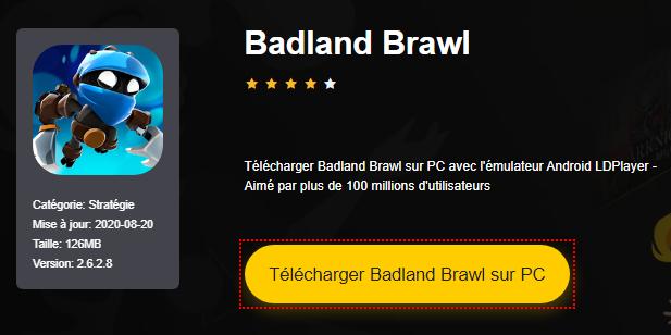 Installer Badland Brawl sur PC