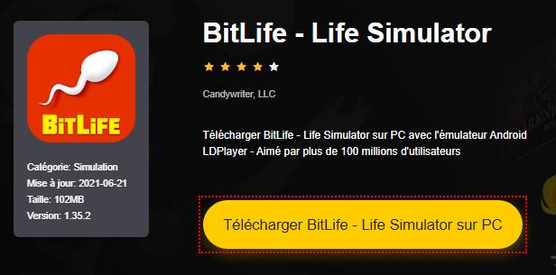 Installer BitLife - Life Simulator sur PC