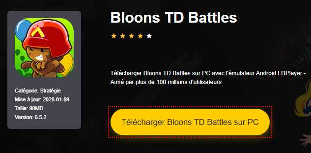 Installer Bloons TD Battles sur PC