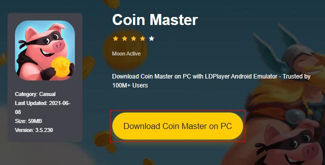 Installer Coin Master sur PC