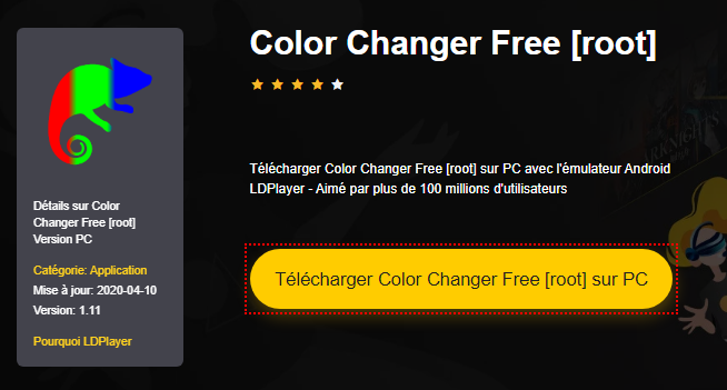 Installer Color Changer Free [root] sur PC