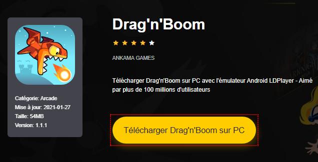 Installer Drag'n'Boom sur PC