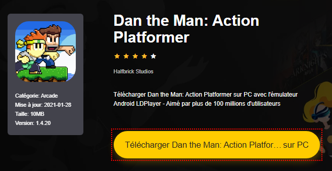 Installer Dan the Man: Action Platformer sur PC