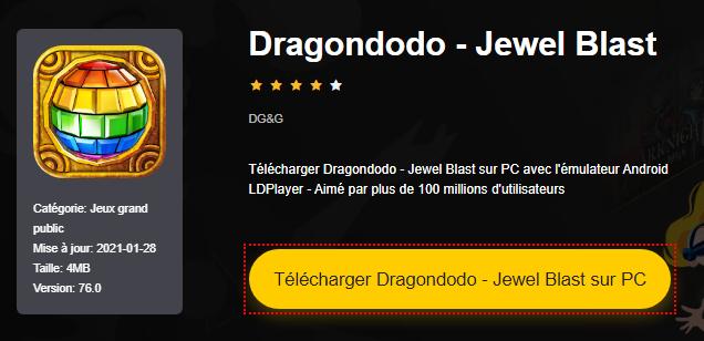 Installer Dragondodo - Jewel Blast sur PC
