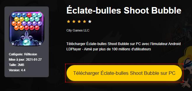 Installer Éclate-bulles Shoot Bubble sur PC