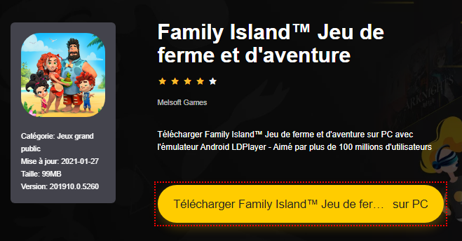 Installer Family Island™ Jeu de ferme et d'aventure sur PC