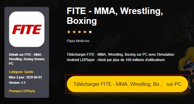 Installer FITE - MMA, Wrestling, Boxing sur PC