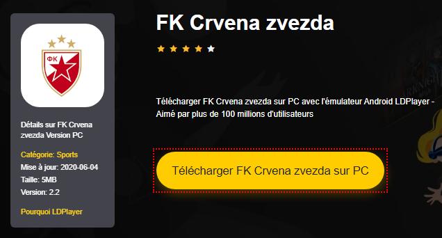 Installer FK Crvena zvezda sur PC