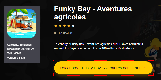 Installer Funky Bay - Aventures agricoles sur PC