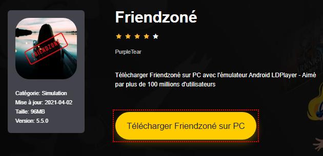 Installer Friendzoné sur PC