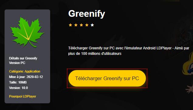 Installer Greenify sur PC