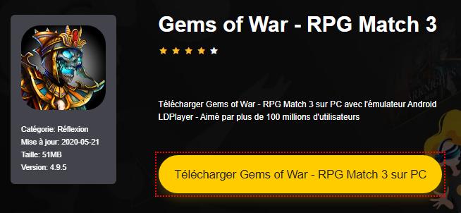 Installer Gems of War - RPG Match 3 sur PC