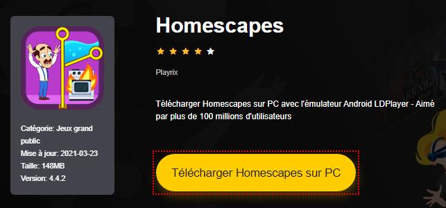 Installer Homescapes sur PC