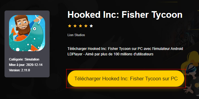 Installer Hooked Inc: Fisher Tycoon sur PC