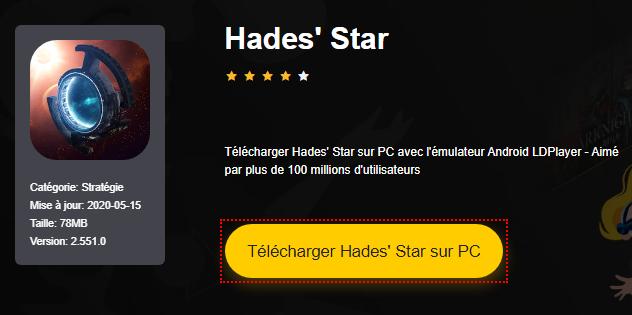 Installer Hades' Star sur PC