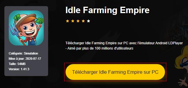 Installer Idle Farming Empire sur PC