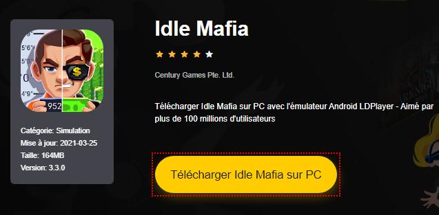 Installer Idle Mafia sur PC