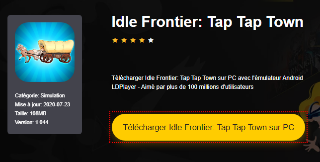 Installer Idle Frontier: Tap Tap Town sur PC