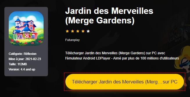Installer Jardin des Merveilles (Merge Gardens) sur PC