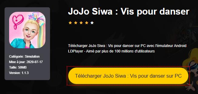 Installer JoJo Siwa : Vis pour danser sur PC