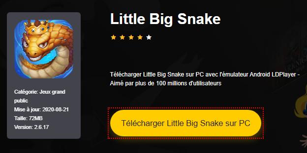 Installer Little Big Snake sur PC