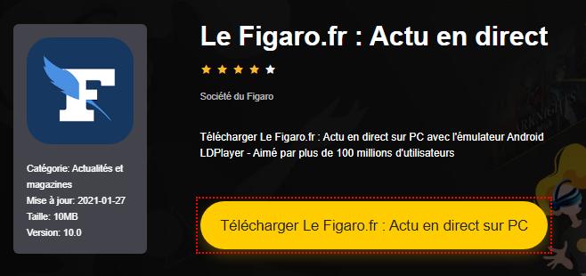 Installer Le Figaro.fr : Actu en direct sur PC