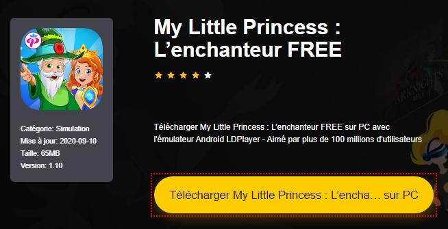 Installer My Little Princess : L'enchanteur FREE sur PC