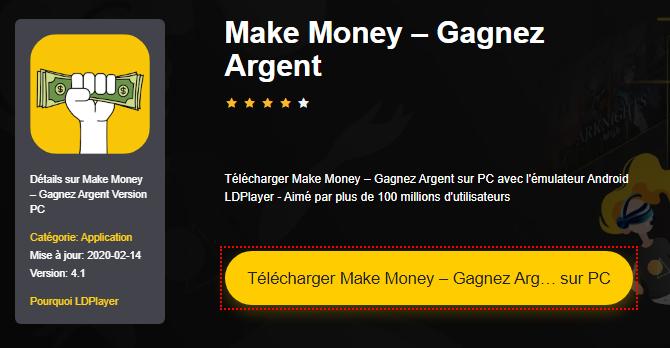 Installer Make Money – Gagnez Argent sur PC