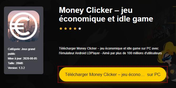 Installer Money Clicker – jeu économique et idle game sur PC