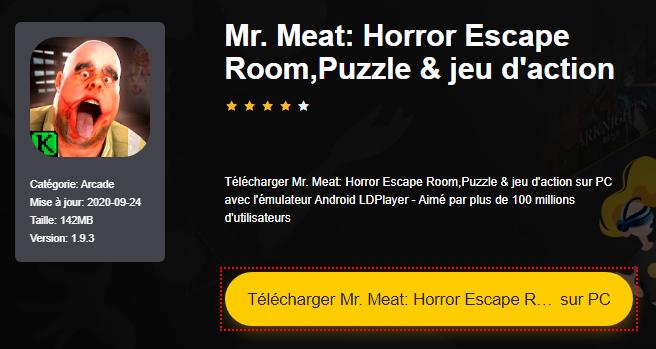 Installer Mr. Meat: Horror Escape Room,Puzzle & jeu d'action sur PC