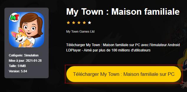 Installer My Town : Maison familiale sur PC