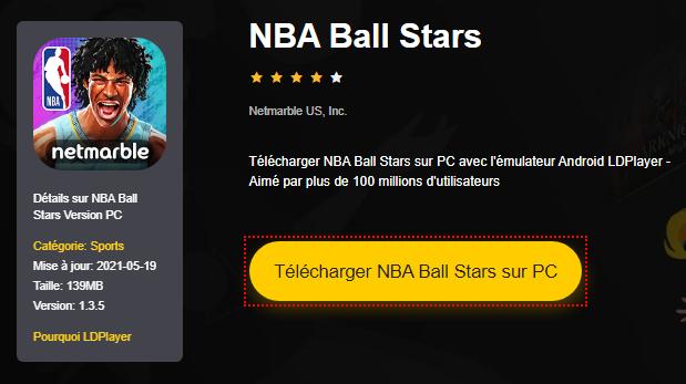 Installer NBA Ball Stars sur PC