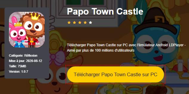Installer Papo Town Castle sur PC