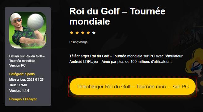 Installer Roi du Golf – Tournée mondiale sur PC
