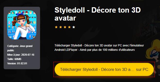 Installer Styledoll - Décore ton 3D avatar sur PC