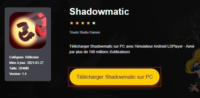 Installer Shadowmatic sur PC