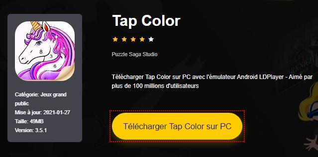 Installer Tap Color sur PC