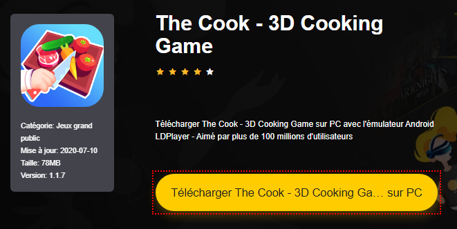 Installer The Cook - 3D Cooking Game sur PC