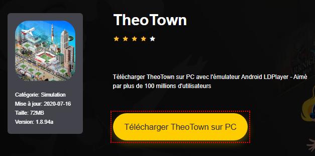 Installer TheoTown sur PC