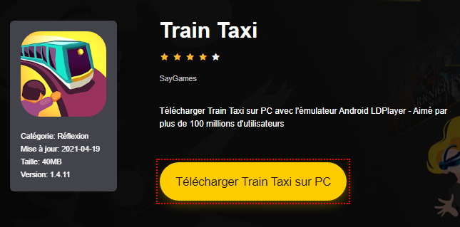 Installer Train Taxi sur PC
