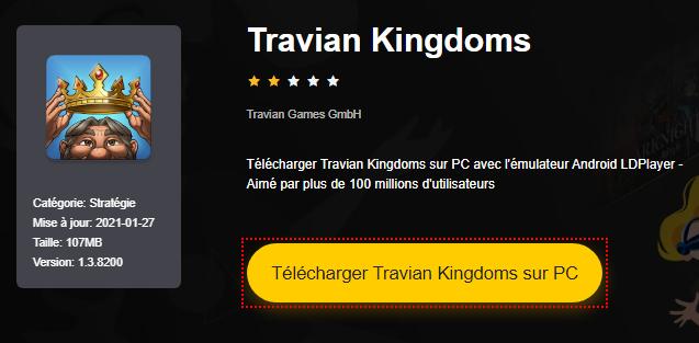 Installer Travian Kingdoms sur PC