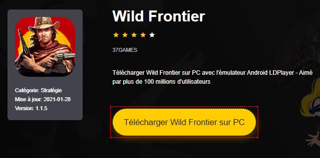 Installer Wild Frontier sur PC