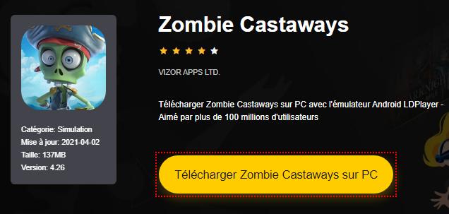 Installer Zombie Castaways sur PC